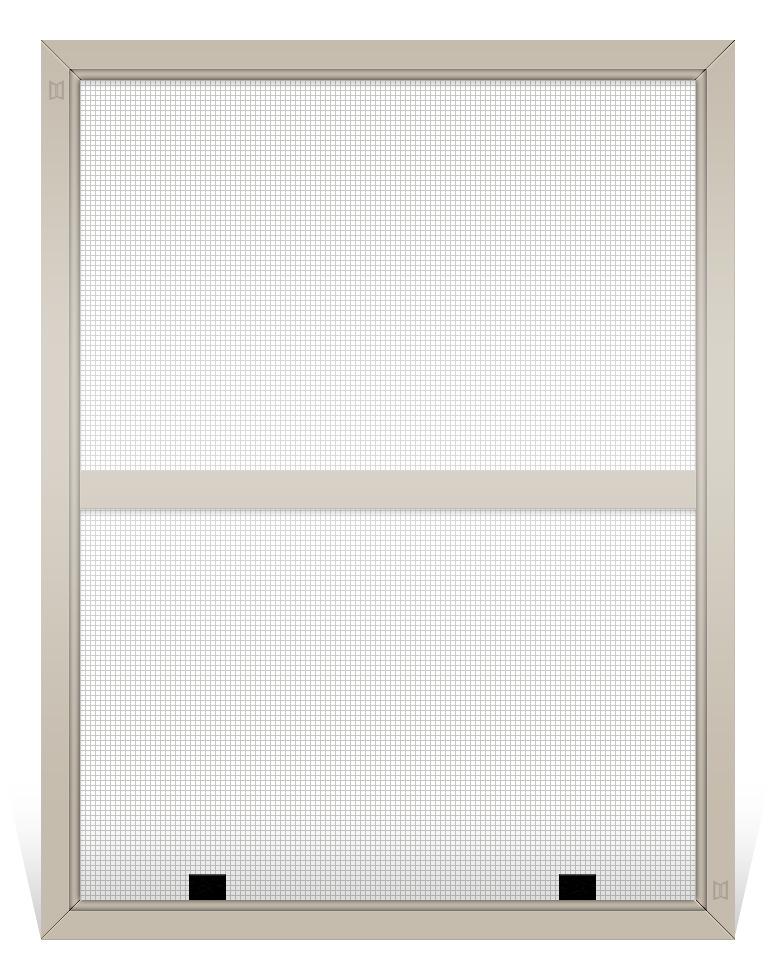 Custom Aluminum Fiberglass Window Screen Double Hung