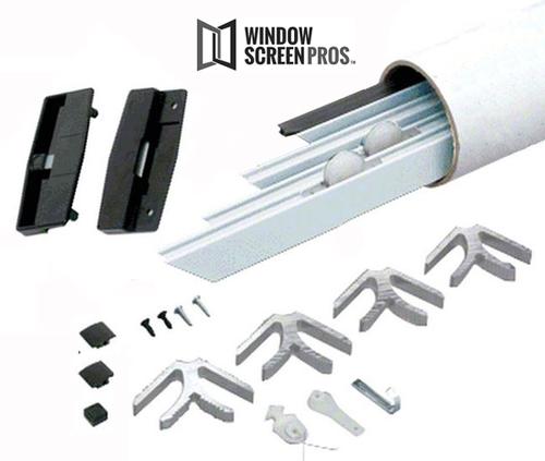Patio Screen Door Replacement Kit: Standard Sliding Patio Screen Door Kit
