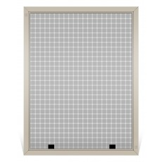 Andersen Replacement Window Screen, Frame Color: Tan, Screen Material: Charcoal Fiberglass
