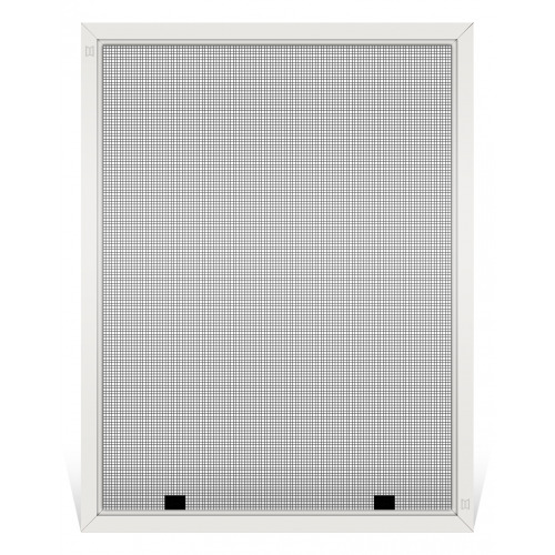 Champion Replacement Window Screen, Frame Color: White, Screen Material: Charcoal Fiberglass