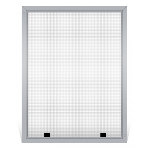 Champion Replacement Window Screen, Frame Color: Mill, Screen Material: Grey Fiberglass