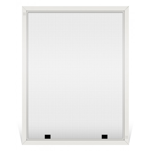 Champion Replacement Window Screen, Frame Color: White, Screen Material: Grey Fiberglass